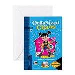 Organized Chaos Greeting Card