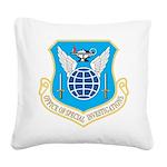 AFOSI logo Square Canvas Pillow
