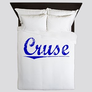Cruse, Blue, Aged Queen Duvet