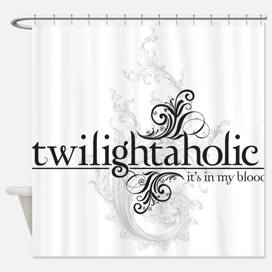 twilightaholic_1-01.png Shower Curtain