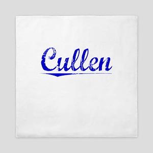 Cullen, Blue, Aged Queen Duvet