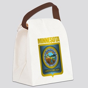 Minnesota Gold Label Canvas Lunch Bag