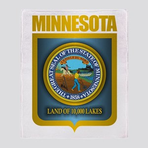 Minnesota Gold Label Throw Blanket