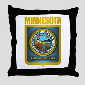 Minnesota Gold Label Throw Pillow