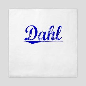 Dahl, Blue, Aged Queen Duvet