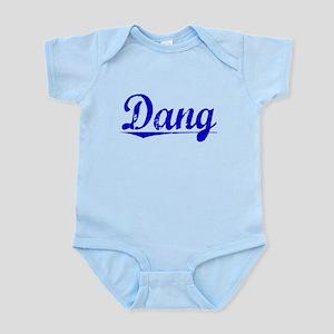 Dang, Blue, Aged Infant Bodysuit