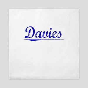 Davies, Blue, Aged Queen Duvet