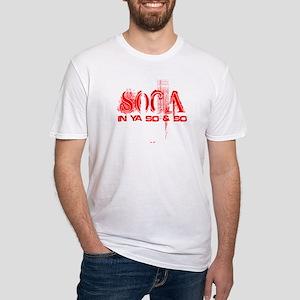 Soca In Ya So & So Fitted T-Shirt