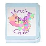 Yunxian China baby blanket