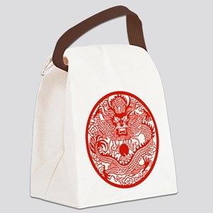 Chinese Dragon - Canvas Lunch Bag