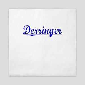 Derringer, Blue, Aged Queen Duvet