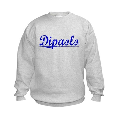Dipaolo, Blue, Aged Kids Sweatshirt