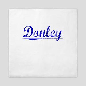 Donley, Blue, Aged Queen Duvet