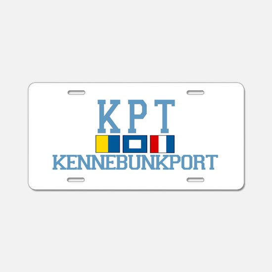 Kennebunkport ME - Varsity Design. Aluminum Licens