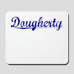 Dougherty, Blue, Aged Mousepad