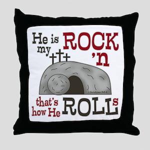 1 Cor 15:3-4 Throw Pillow