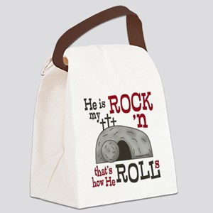 1 Cor 15:3-4 Canvas Lunch Bag
