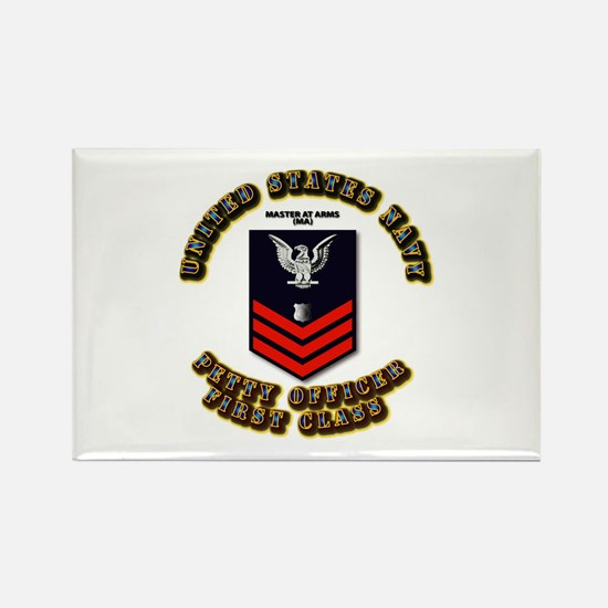 Master at Arms (MA) Rectangle Magnet