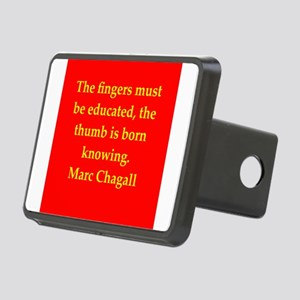 chagall8 Rectangular Hitch Cover