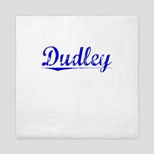 Dudley, Blue, Aged Queen Duvet