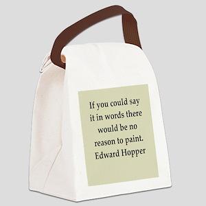 hopper5 Canvas Lunch Bag