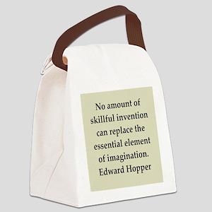 hopper10 Canvas Lunch Bag