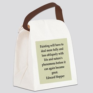 hopper11 Canvas Lunch Bag