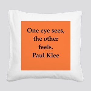klee7 Square Canvas Pillow