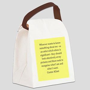 klimt4 Canvas Lunch Bag