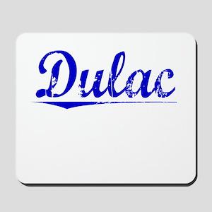 Dulac, Blue, Aged Mousepad