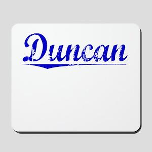 Duncan, Blue, Aged Mousepad