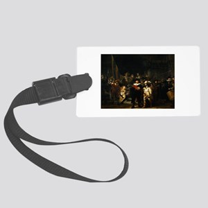 rembrandt12 Large Luggage Tag