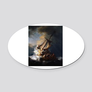 rembrant3 Oval Car Magnet