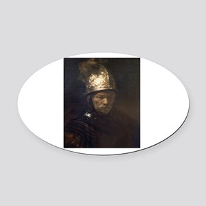 rembrant5 Oval Car Magnet