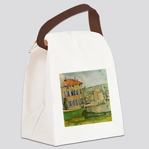 paul cezanne Canvas Lunch Bag
