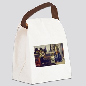 leonardo da vinci Canvas Lunch Bag