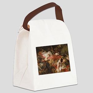 delacroix Canvas Lunch Bag