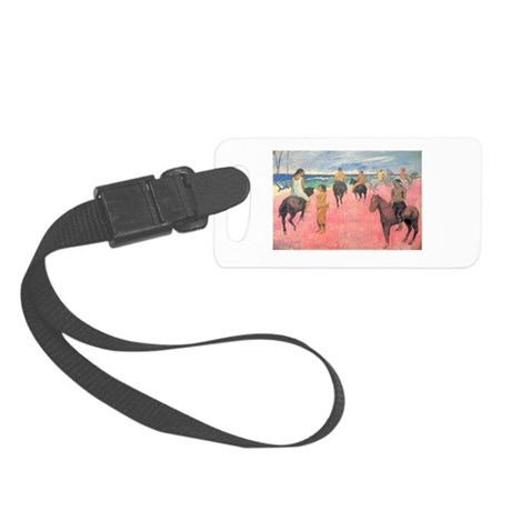 paul gauguin Small Luggage Tag