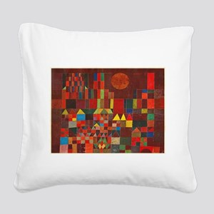 paul klee Square Canvas Pillow