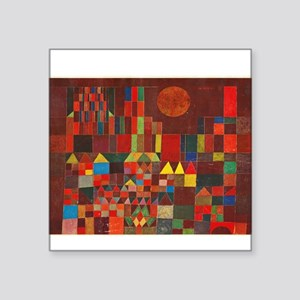 "paul klee Square Sticker 3"" x 3"""