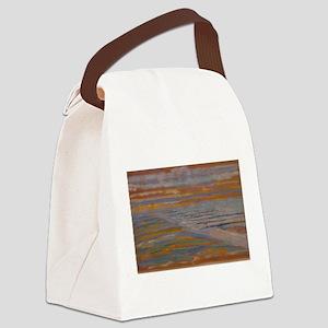 mondrian Canvas Lunch Bag