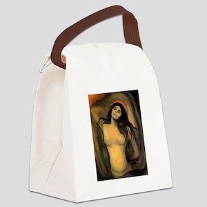 edvun munch Canvas Lunch Bag