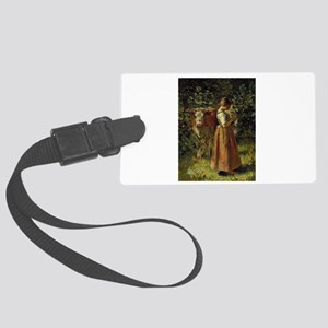 theodore robinson Large Luggage Tag
