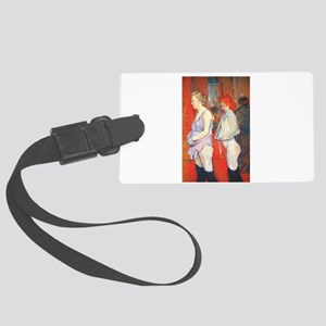 toulouse lautrec Large Luggage Tag