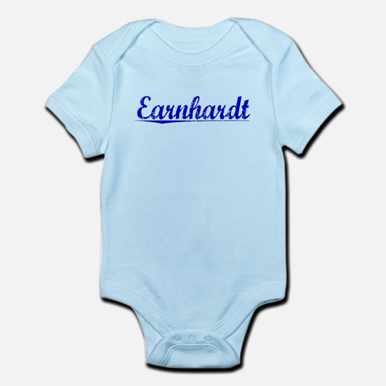 Earnhardt, Blue, Aged Infant Bodysuit