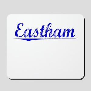 Eastham, Blue, Aged Mousepad