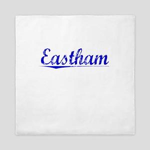 Eastham, Blue, Aged Queen Duvet
