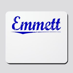 Emmett, Blue, Aged Mousepad