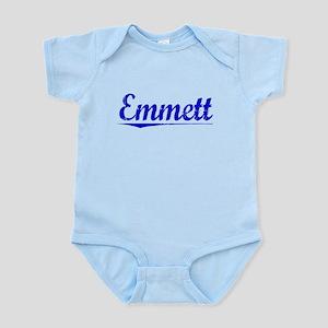 Emmett, Blue, Aged Infant Bodysuit