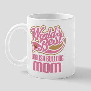 English Bulldog Mom Mug